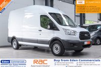 USED 2014 64 FORD TRANSIT 2.2 350 LWB MED ROOF DRW 1d 124 BHP