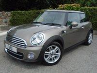 2012 MINI HATCH COOPER 2.0 COOPER D 3d AUTO 110 BHP £9995.00