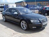 2010 AUDI A8 5.2 S8 FSI QUATTRO V10 4d AUTO 450 BHP £26950.00