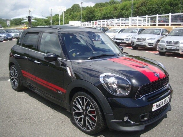 2014 14 MINI COUNTRYMAN 1.6 JOHN COOPER WORKS 5d AUTO 215 BHP
