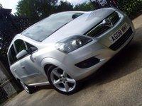 2008 VAUXHALL ZAFIRA 1.8 SRI 5d 140 BHP £3999.00