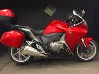 2011 HONDA VFR 1200 F-A. abs. 2011. 17k. fsh. luggage. alrm. risers.  £6450.00