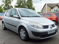 2005 RENAULT SCENIC 1.6 EXPRESSION  5d  £695.00