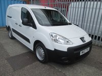 2012 PEUGEOT PARTNER 750 S L2 1.6 HDi 90 *LONG WHEEL BASE* £5495.00