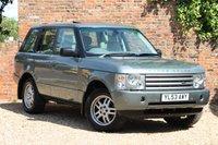 2004 LAND ROVER RANGE ROVER 2.9 TD6 VOGUE 5d AUTO 175 BHP £7980.00