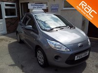 2010 FORD KA 1.2 STYLE PLUS 3d 69 BHP £SOLD