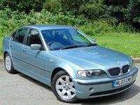 2003 BMW 3 SERIES 2.0 318I SE 4d 141 BHP £2995.00