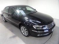 2012 VOLKSWAGEN PHAETON 3.0 V6 TDI 4MOTION SWB 4d AUTO 237 BHP £15600.00