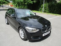 2013 BMW 1 SERIES 1.6 116D EFFICIENTDYNAMICS 3d 114 BHP £11495.00