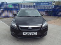 USED 2008 08 FORD FOCUS 1.6 ZETEC TDCI 5d 108 BHP LOW TAX & INS