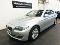 2011 BMW 5 SERIES 2.0 520D SE 4d 181 BHP £10199.00