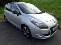 2011 RENAULT SCENIC 1.6 DYNAMIQUE TOMTOM BOSE ENERGY DCI S/S 5d 130 BHP £5750.00
