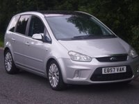 2007 FORD C-MAX 1.6 TITANIUM 5d 108 BHP £SOLD