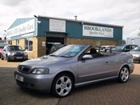 2003 VAUXHALL ASTRA 1.8 COUPE CONVERTIBLE 16V 2d 125 BHP £1695.00
