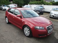 2008 AUDI A3 1.9 TDI E SPECIAL EDITION DIESEL 5 DOOR �20 YEARLY TAX £6000.00