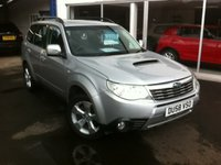 2008 SUBARU FORESTER 2.0 D XC 5d 147 BHP 4WD £SOLD