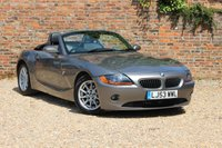 2003 BMW Z4 2.5 Z4 ROADSTER 2d 190 BHP £4480.00