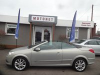 2007 VAUXHALL ASTRA 1.9 TWIN TOP DESIGN 3d 150 BHP £3440.00