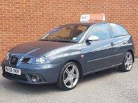 2006 SEAT IBIZA 1.9 FR TDI PD 3 Door RAC WARRANTY £3695.00