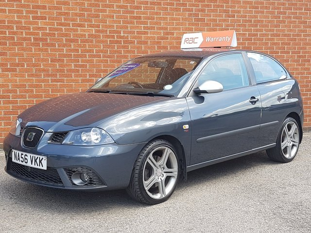 2006 56 SEAT IBIZA 1.9 FR TDI PD 3 Door RAC WARRANTY