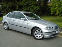 2002 BMW 3 SERIES 1.8 316TI SE 3d 114 BHP £1495.00