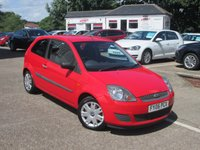 2006 FORD FIESTA 1.2 STYLE 16V 3d 78 BHP £1500.00