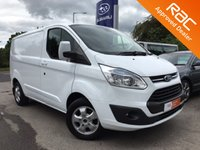 2015 FORD TRANSIT CUSTOM 2.2 290 LIMITED LR P/V 1d 124 BHP £14295.00