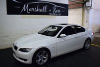 USED 2008 08 BMW 3 SERIES 2.0 320I SE 2d AUTO 168 BHP STUNNING COLOUR - SAT NAV - FULL LEATHER - UPGRADED ALLOYS - E/SUNROOF - HEATED SEATS
