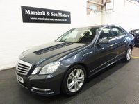 2011 MERCEDES-BENZ E CLASS 2.1 E250 CDI BLUEEFFICIENCY AVANTGARDE 4d AUTO 204 BHP £10399.00