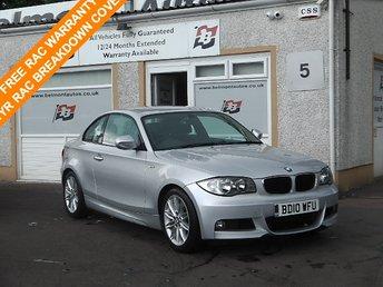 2010 BMW 1 SERIES 2.0 120D M SPORT 2d AUTO 175 BHP £9700.00
