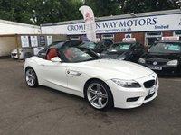 2013 BMW Z4 2.0 Z4 SDRIVE20I M SPORT ROADSTER 2d AUTO 181 BHP £19995.00