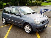 2007 RENAULT CLIO 1.1 CAMPUS SPORT 16V 3d 75 BHP £2495.00