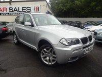 2006 BMW X3 2.0 D M SPORT 5d 148 BHP £7695.00