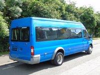 USED 2007 07 FORD TRANSIT T4302.4TDCI 115BHP 17 SEATER LWB MINI BUS +REAR ELEC TAILLIFT+8 STAMPS+
