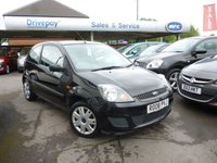 2008 FORD FIESTA 1.2 STYLE CLIMATE 16V 3d 78 BHP £2999.00