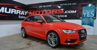USED 2014 AUDI A3 1.6 TDI SE 5DOOR S-LINE BLACK EDITION STYLING