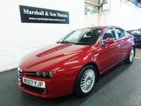 2007 ALFA ROMEO 159 1.9 JTD LUSSO 4d 150 BHP £3500.00