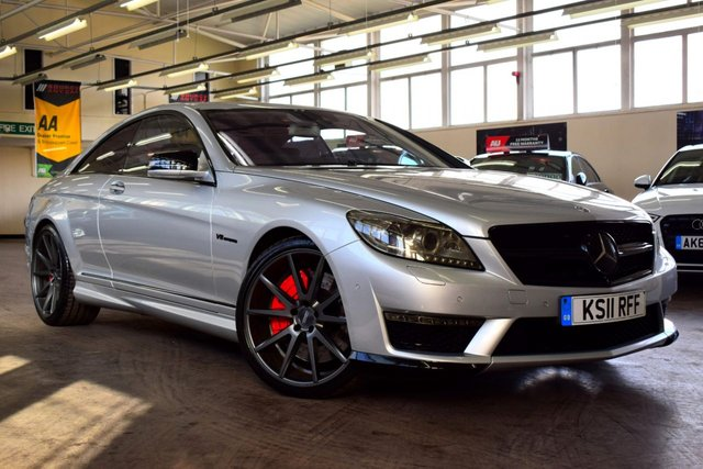 USED 2011 11 MERCEDES-BENZ CL 5.5 CL63 AMG 2d AUTO 700 BHP ++ OUTSTANDING CONDITION + SPEC ++