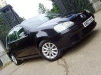 2007 VOLKSWAGEN GOLF 1.6 MATCH FSI 5d AUTO 114 BHP £4499.00