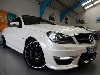2012 MERCEDES-BENZ C CLASS 6.2 C63 AMG EDITION 125 2d AUTO 457 BHP £27990.00