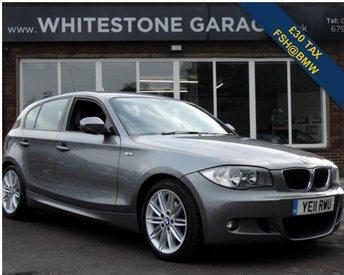 2011 BMW 1 SERIES 2.0 118D M SPORT 5d 141 BHP £8995.00