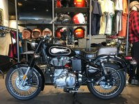 2019 ROYAL ENFIELD BULLET 500 BLACK £3999.00