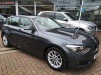 2013 BMW 1 SERIES 1.6 116D EFFICIENTDYNAMICS 5d 114 BHP £12695.00