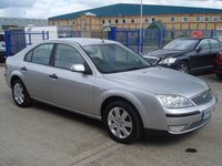 2005 FORD MONDEO 1.8 SILVER 5d 125 BHP £1495.00