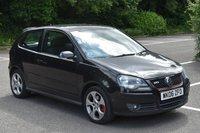 2006 VOLKSWAGEN POLO 1.8 GTI 3d 148 BHP PETROL MANUAL CAR  £3590.00