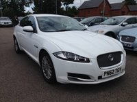 2012 JAGUAR XF 2.2 D SE BUSINESS 4d AUTO 163 BHP £SOLD