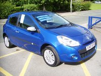 2010 RENAULT CLIO 1.1 I-MUSIC TCE 3d 100 BHP £3895.00