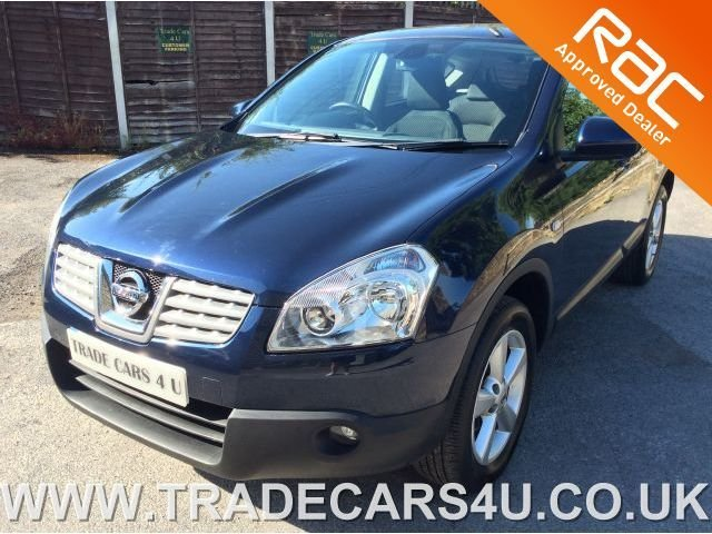 2009 NISSAN QASHQAI 2.0 ACENTA 6 SPEED WITH PRIVATE PLATE
