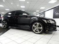 2012 AUDI S3 2.0 TFSI BLACK EDITION QUATTRO £16975.00
