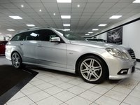 2010 MERCEDES-BENZ E CLASS E250 CDI SPORT BLUEEFFICIENCY AUTO £12950.00